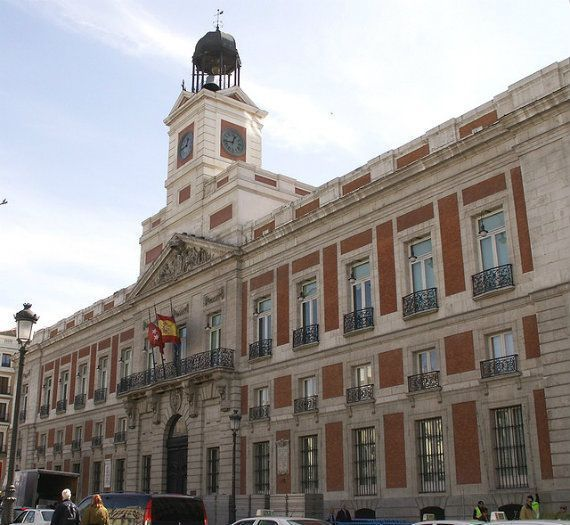 Emblematic buildings of Madrid