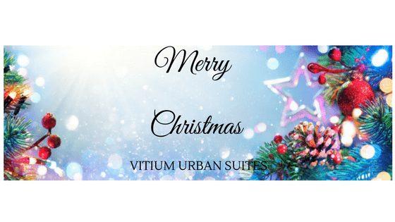 Vitium Urban Suites te desea, ¡feliz Navidad!