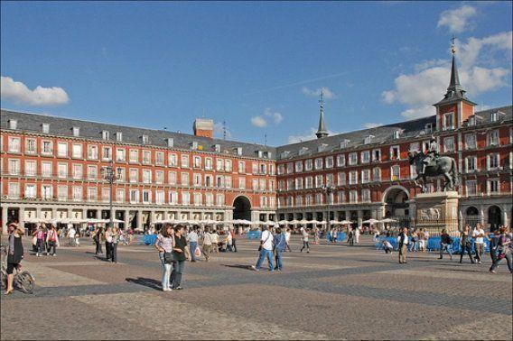 The plaza Mayor madrid