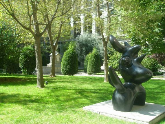 Secret gardens of Madrid