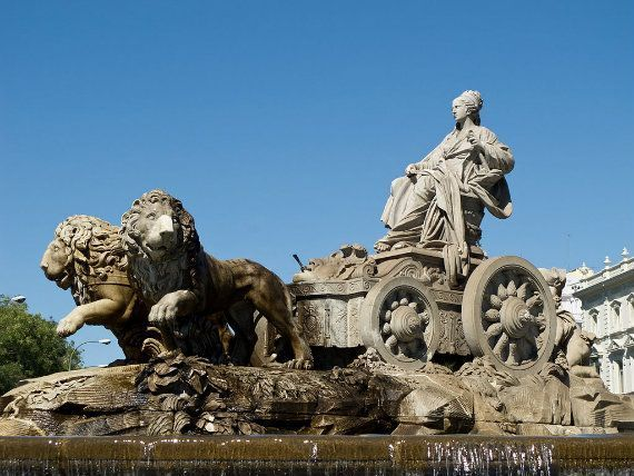 Madrid's emblematic fountains